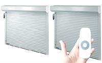 Persianas enrollables para ventanas y puertas de PVC - Blanco
