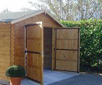Puerta de garaje 40mm