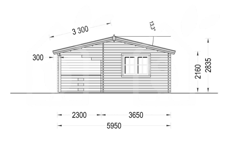 Casa Marbella 4466 mm, 54 m²