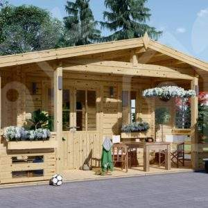 Caseta de jardín Granada 44 mm