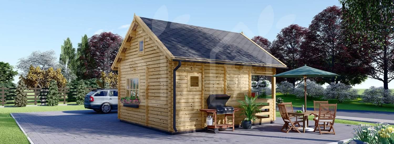 La casa Palma mm 20 m² + porche