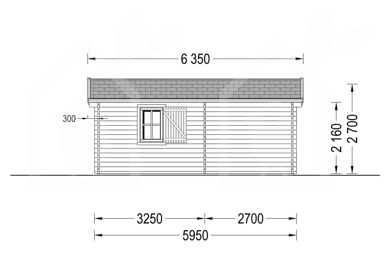 La casa Vigo 58 mm, 30 m²