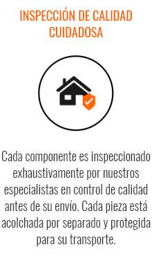 INSPECCIÓN DE CALIDAD CUIDADOSA