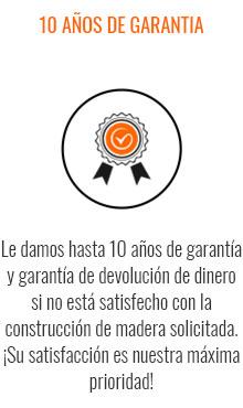 10 AÑOS DE GARANTIA