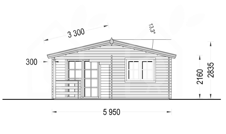 CASA OVIEDO 36 M² (6X6) 44/66 MM