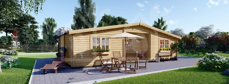 ¿Cómo se garantiza la alta calidad de las casas de madera?